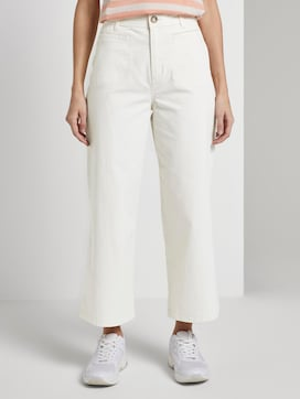 High-waist Culotte trousers - 1 - TOM TAILOR Denim