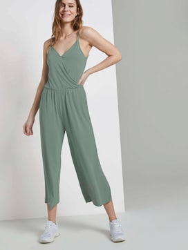 Culotte jumpsuit with straps - 5 - TOM TAILOR Denim