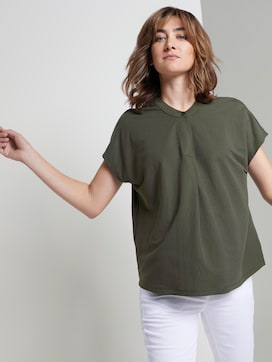 Halsband T-Shirt - 5 - TOM TAILOR