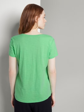 T-shirt met print en V-hals - 2 - TOM TAILOR Denim