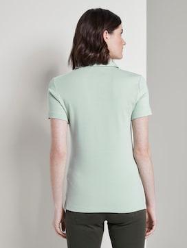 Polo shirt met klein borduursel - 2 - TOM TAILOR