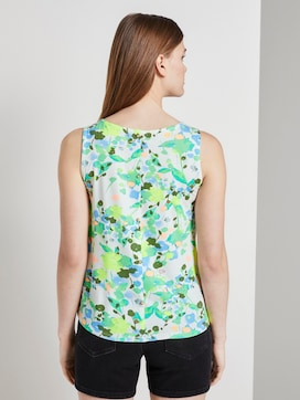 Patterned top made of jersey - 2 - TOM TAILOR Denim