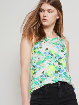 Patterned top made of jersey - 5 - TOM TAILOR Denim