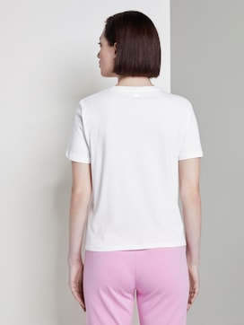 Losse T-shirt met knoopdetail - 2 - TOM TAILOR Denim