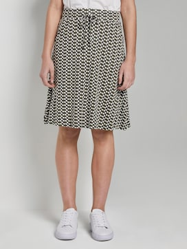 Printed Jersey mini skirt - 1 - TOM TAILOR