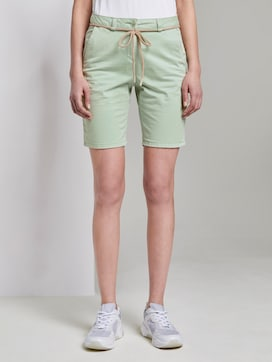 Chino Relaxed Bermuda Shorts - 1 - TOM TAILOR