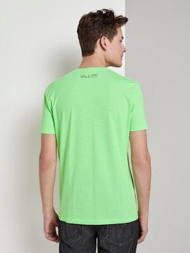 Striped T-shirt with a V-neckline - 2 - TOM TAILOR Denim