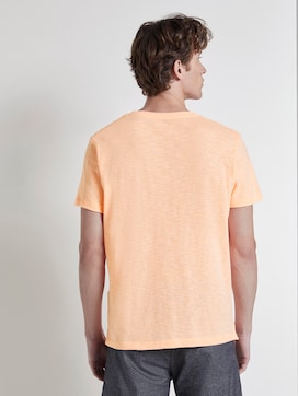 Striped T-shirt with a chest pocket - 2 - TOM TAILOR Denim