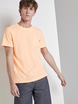 Gestreiftes T-Shirt mit Brusttasche - 5 - TOM TAILOR Denim