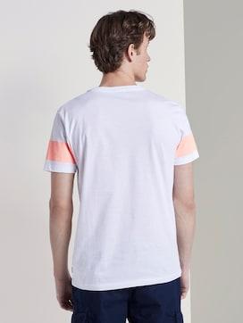 T-Shirt mit horizontalem Streifenprint - 2 - TOM TAILOR Denim