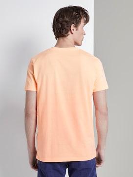 T-Shirt mit tropischem Brustprint - 2 - TOM TAILOR Denim