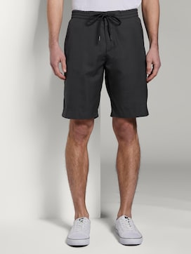 Checked jogger shorts - 1 - TOM TAILOR Denim