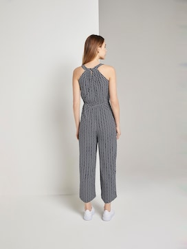 Halter Jumpsuit met brede been - 2 - TOM TAILOR