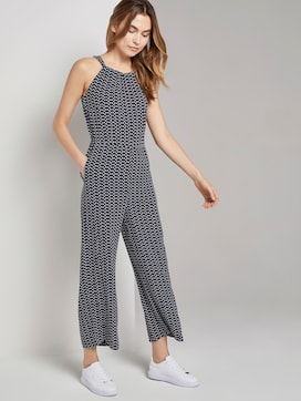 Halter Jumpsuit met brede been - 5 - TOM TAILOR