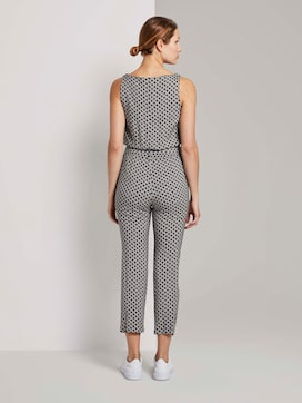 Sleeveless jumpsuit with an elastic waistband - 2 - TOM TAILOR