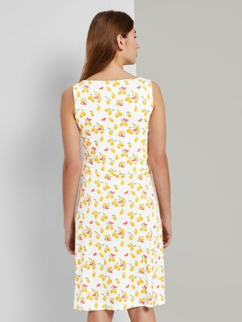 Patterned Jersey dress with wrap detail - 2 - TOM TAILOR