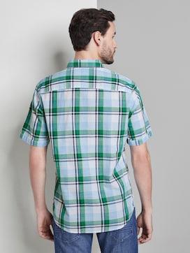 Kariertes Kurzarmhemd mit Brusttasche - 2 - TOM TAILOR