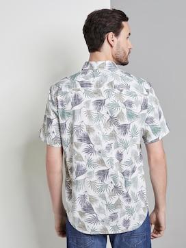 Kurzarmhemd mit tropischem Print - 2 - TOM TAILOR
