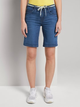 Alexa slim bermuda denim shorts - 1 - TOM TAILOR