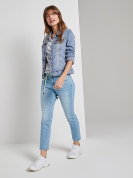 Tapered Relaxed Jeans in 7/8-Länge - 3 - TOM TAILOR