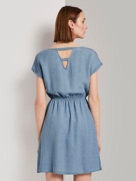 Mini jurk met achterhals in denim look - 2 - TOM TAILOR Denim