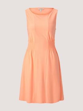 Jersey mini dress with smocking details - 7 - TOM TAILOR Denim