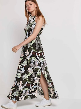 Halter maxi dress with a tropical print - 5 - TOM TAILOR Denim