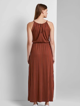 Striped halter maxi dress - 2 - TOM TAILOR Denim