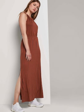 Striped halter maxi dress - 5 - TOM TAILOR Denim