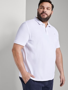 Poloshirt mit Logo-Stickerei - 5 - Men Plus