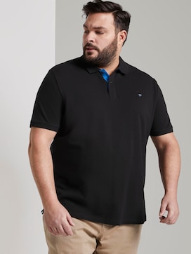 Polo shirt with an embroidered logo - 5 - Men Plus