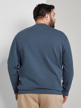Schlichtes Sweatshirt - 2 - Men Plus