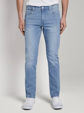 Josh regular slim jeans with an offset coin pocket - 1 - TOM TAILOR