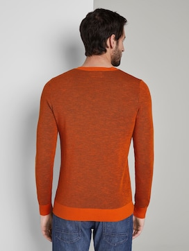Textured pullover - 2 - TOM TAILOR