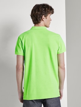 Poloshirt in Melange-Optik mit Stickerei - 2 - TOM TAILOR Denim