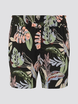 Relaxed Shorts mit elastischem Bund - 7 - TOM TAILOR Denim