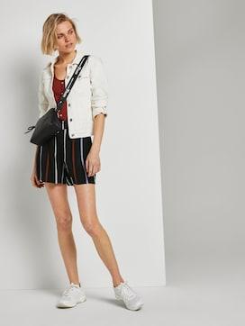 Relaxed shorts met elastische tailleband - 3 - TOM TAILOR Denim