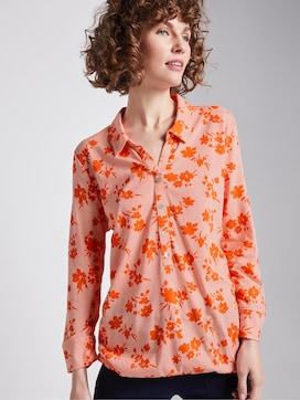 T-shirt met patroon - 5 - TOM TAILOR
