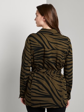 Blazerjacke im Zebra-Muster - 2 - Tom Tailor E-Shop Kollektion
