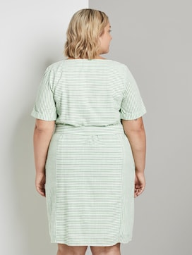 Gestreiftes Kleid mit Bindegürtel - 2 - Tom Tailor E-Shop Kollektion