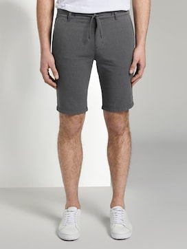 Chino Shorts mit Kordelzug - 1 - TOM TAILOR Denim