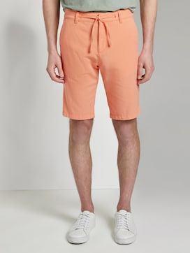 Chino shorts with a drawstring - 1 - TOM TAILOR Denim