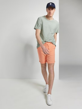 Chino shorts with a drawstring - 3 - TOM TAILOR Denim