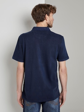 Polo shirt met logo patch - 2 - TOM TAILOR