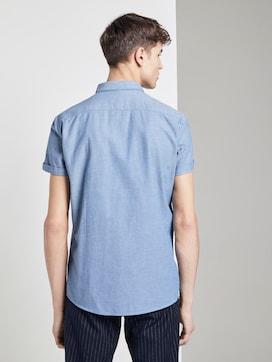 Getextureerd hemd met korte mouwen - 2 - TOM TAILOR Denim
