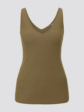 Basic Top aus Lyocell - 7 - Tom Tailor E-Shop Kollektion
