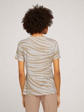 T-shirt in a zebra pattern - 2 - Mine to five