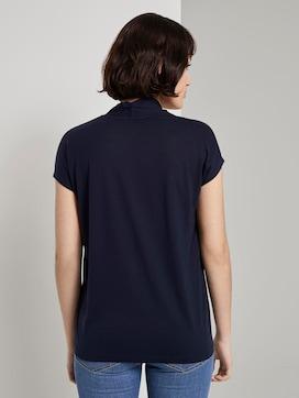Feminine T-shirt made of Lyocell - 2 - Mine to five