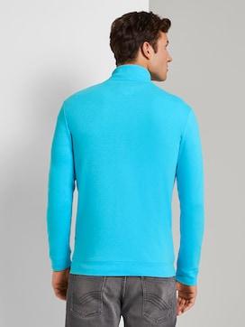 Textured sweat-jacket - 2 - TOM TAILOR