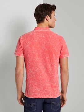 Poloshirt in Stone-Washed-Optik - 2 - TOM TAILOR